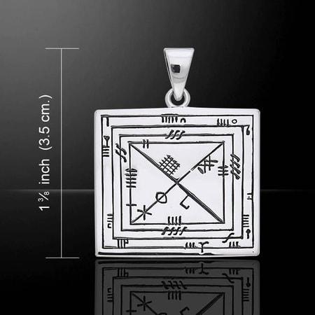 Ogham pendant silver wulflund ogham pendant silver aloadofball Images