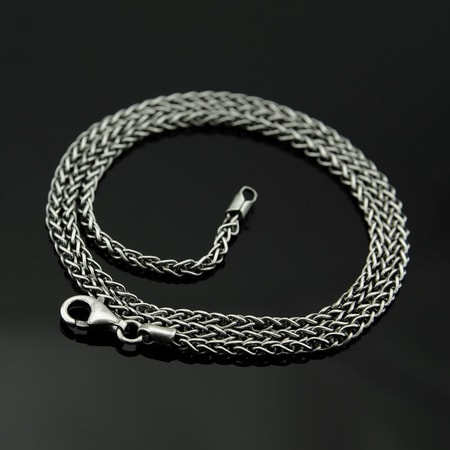 VIKING, SILVER NECK CHAIN