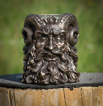 SATYR, candle holder