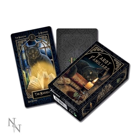LISA PARKER TAROT FAMILIAR CARDS GOTHIC