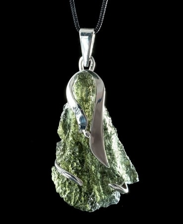 Moldavite Czech Jewelry