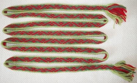 Slavic and Viking Tabletwoven Belts - wulflund.com