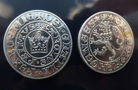 Medieval Coins Replica Collections Wholesale Silver Tin