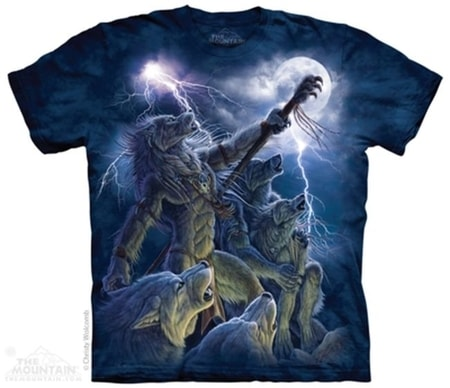 Calling The Storm - Wolf, T-Shirt The Mountain