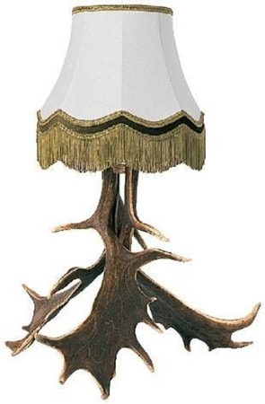 Deer Antler Table Lamp Manufacturer Europe Asia USA Alaska solid wood cabinetry