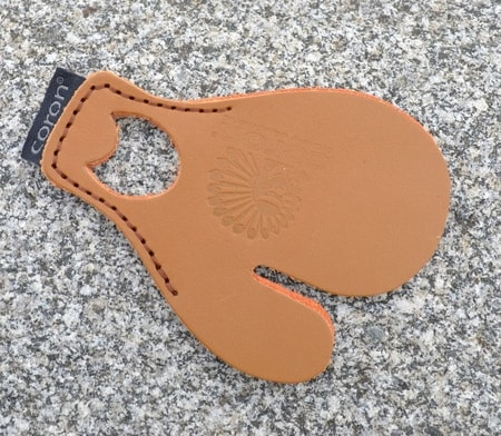 LEATHER TAB for archery, profi