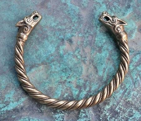 2e19f2bb3fb19 FENRIR, viking wolf bracelet - pewter - wulflund.com