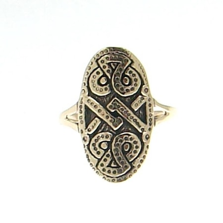VIKING SHIELD, bronze ring