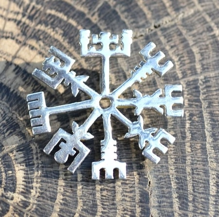 VEGVISIR, rune, pendant for protection