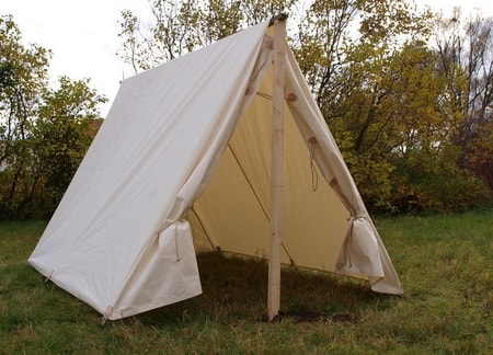 17th Century Soldieru0027s Tent - Cotton : cotton tents - memphite.com