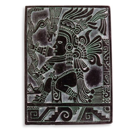 AZTEC WARRIOR, WALL DECORATION