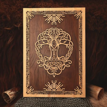 YGGDRASIL WALL DECORATION PLAQUETTE