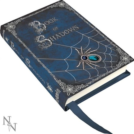 SPIDER, notebook, book of shadows