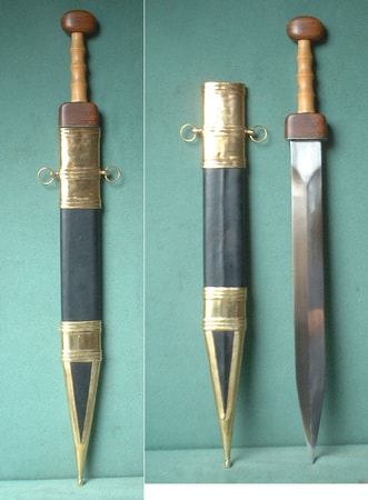 GLADIUS WITH SCABBARD