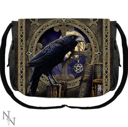 Messenger Bag Raven Lisa Parker