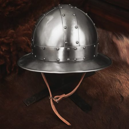 KETTLE HAT WITH RIVETS, HELMET