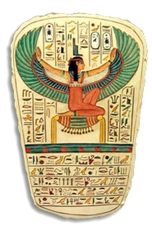 WINGED ISIS, WALL DECORATION