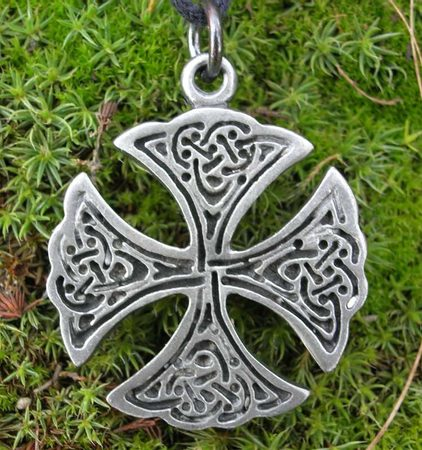 Celtic Knot Cross - pendant