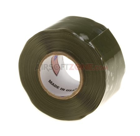 SELF FUSING SILICONE TAPE 1 INCH X 10FT PRO TAPES, GRÜN