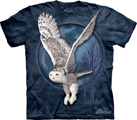 SNOW OWL MOON, The Mountain, t-shirt