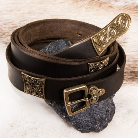 SLAVONIA, Moravia Magna, leather belt