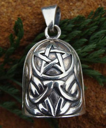 Silver Bell Pendants Wiccan Store SHOP Wholesale