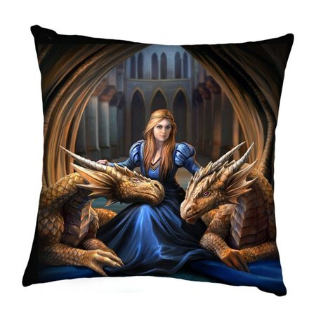 Fierce Loyalty Cushion, Anne Stokes