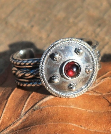 Roman Ring sterling silver