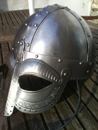 Viking Helmet With The Mask Ii Wulflund Com