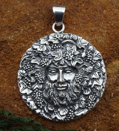 Bacchus, God Dionysus,Roman, Greek Pendant Ancient