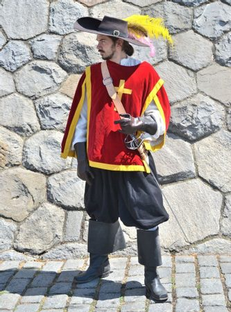 FRENCH MUSKETEER, COSTUME RENTAL