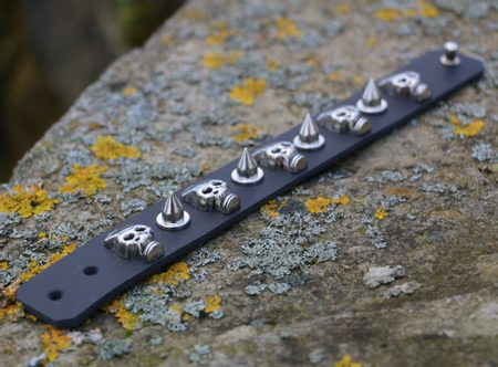 ROCKER, leather bracelet XVIII
