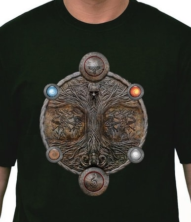 SLAVIC TREE OF LIFE, t-shirt, Rod - Serbia