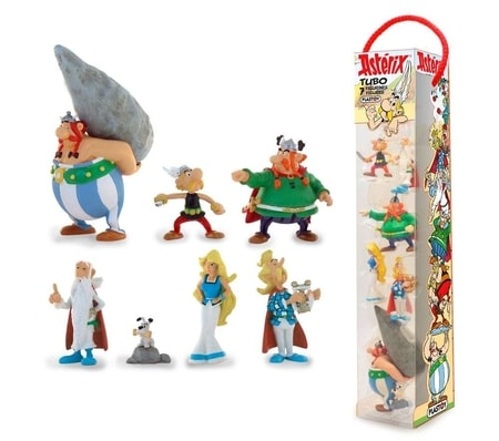Asterix Mini Figures, 7 pcs