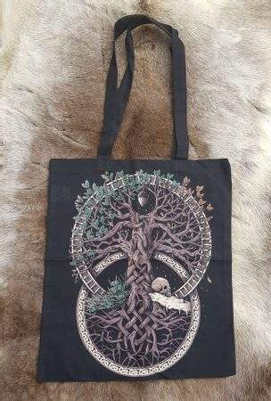 TREE OF LIFE, CLOTH BAG COLORED