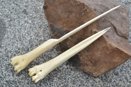 BONE AWL, for leather work