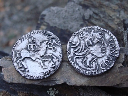 BOII TRIBES, BOII COINS, COINS FROM CZECH REPUBLIC and SLOVAKIA, COVNOS