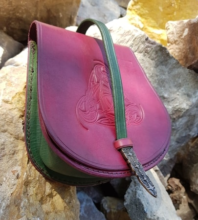 GOTLAND, Viking Leather Bag