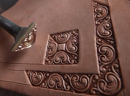 Liber leather stamp wulflund