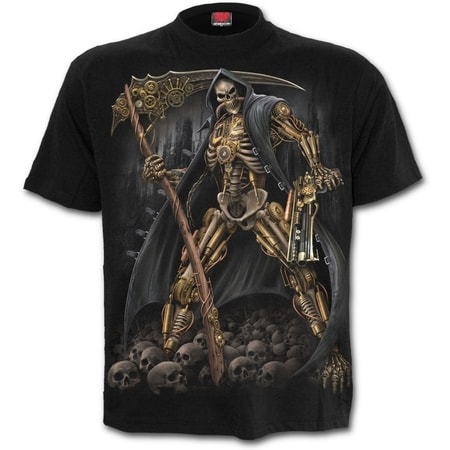 STEAMPUNK SKELETON - T-Shirt Black