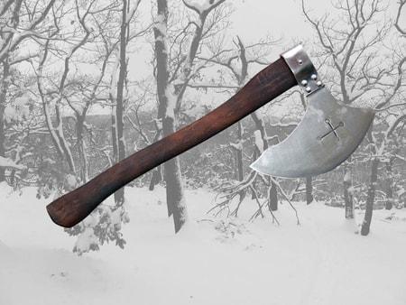 Gothic axes battle axe...