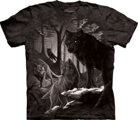 DIRE WINTER - WOLF - T-Shirt - The Mountain