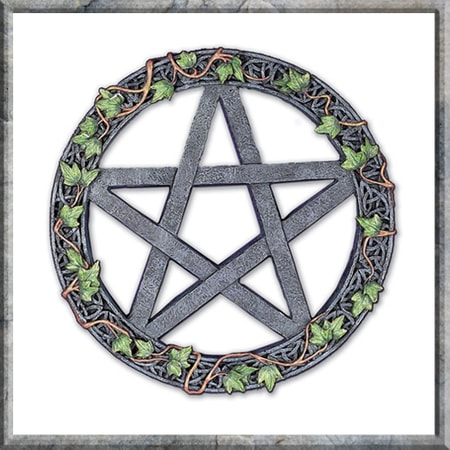 PENTAGRAM, wall plaque