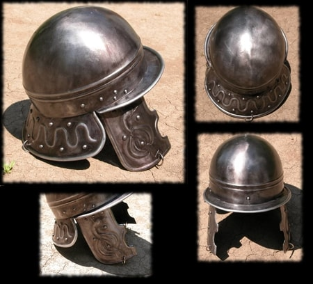 CELTIC HELMET - replica from Bela Cerkev - Reconstruction