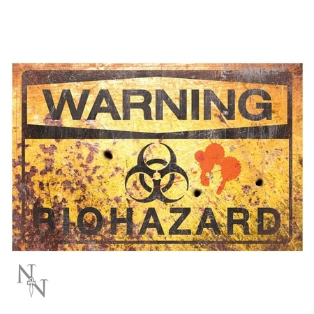 Warning Bio Hazard Pancarte