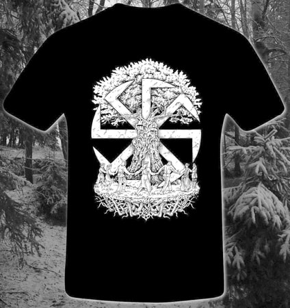BROTHERHOOD, SLAVIC T-SHIRT