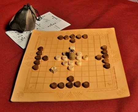Hnefatafl or Tafl, Viking Board Game