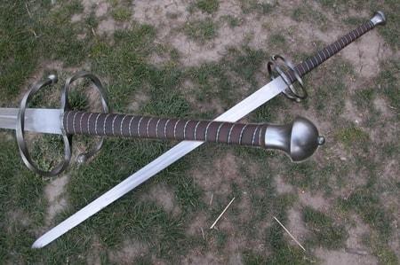Medieval Falchion Sword LANDSKNECHT SWORD TWO-...