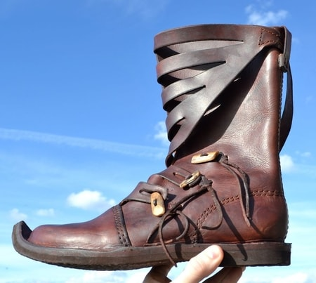 VIKING AND NORMAN LIVING HISTORY SHOES