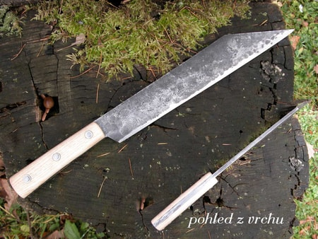 VIKING SEAX, wooden handle
